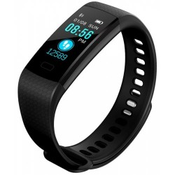 Bratara Smart Fitness Sport Y5 Bluetooth 4.0 Waterproof cu Monitorizare Somn, Cardiaca si Pedometru, compatibila Android iOS