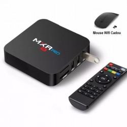 TV Box, Media player 4K, MXR PRO, Android 8.1, 4gb/32gb 4k, Bluetooth, Netflix