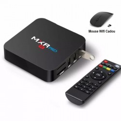 TV Box, Media player 4K, MXR PRO, Android 9, 4gb/32gb 4k, Bluetooth, Netflix