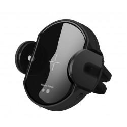 Suport Incarcator Telefon Auto Wireless DCAE Techstar® C11 Fast Charging Senzor Infrarosu Qi pentru Android si IoS