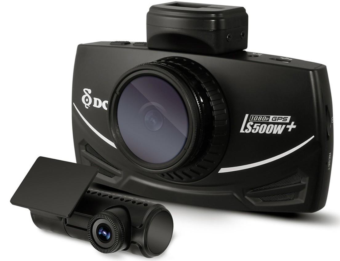 Camera auto dubla DVR DOD LS500W+, Full HD, GPS, senzor imagine Sony, lentile Sharp, WDR, G senzor, 3 inch LCD imagine techstar.ro 2021
