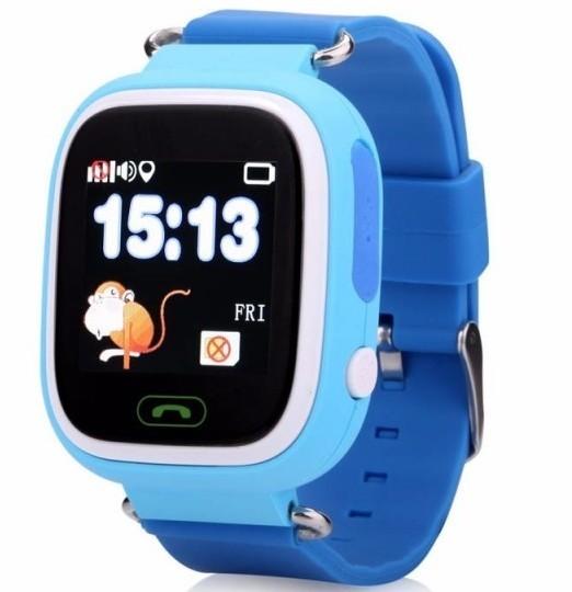 Ceas Smartwatch copii cu GPS iUni Q90, Touchscreen, Telefon incorporat, Buton SOS, Albastru imagine techstar.ro 2021