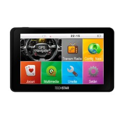 "Navigator GPS Auto Techstar GoTrack de 5"" Ecran HD Windows CE"