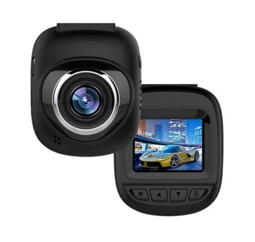 Camera Video Auto DVR Mini FullHD Techstar® RL-127, display 1.5, unghi 150° cu Parking Mode, Senzori de Miscare si Night Vision