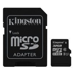 Card de Memorie Kingston Canvas Select microSDHC 32GB + Adaptor SD