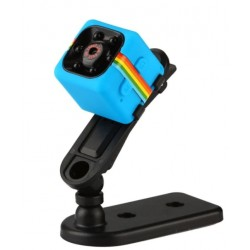 Mini Micro Camera Albastra Sport si Auto Smart Techstar® SQ11 cu Nightvision 12MP
