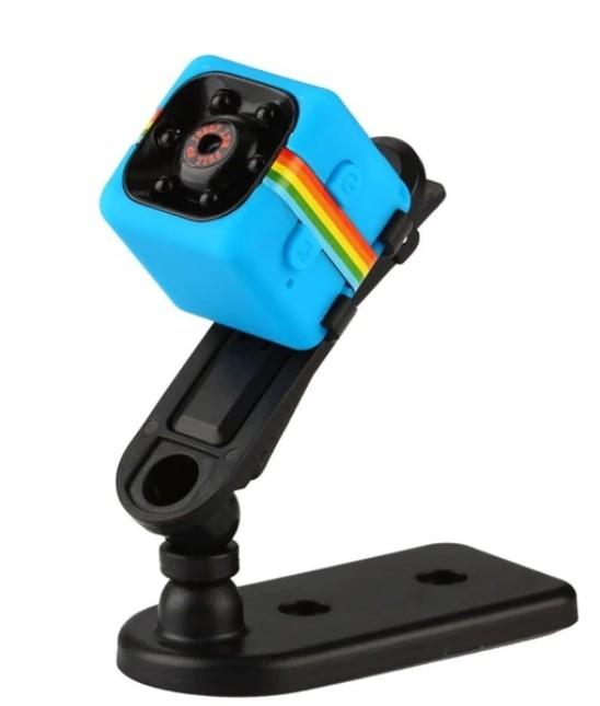 Mini Micro Camera Albastra Sport si Auto Smart SQ11 cu Nightvision 12MP