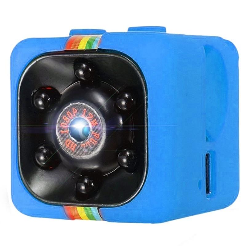 Mini Camera Spion iUni SQ11, Full HD 1080p, Audio Video, Night Vision, TV-Out, Blue imagine techstar.ro 2021