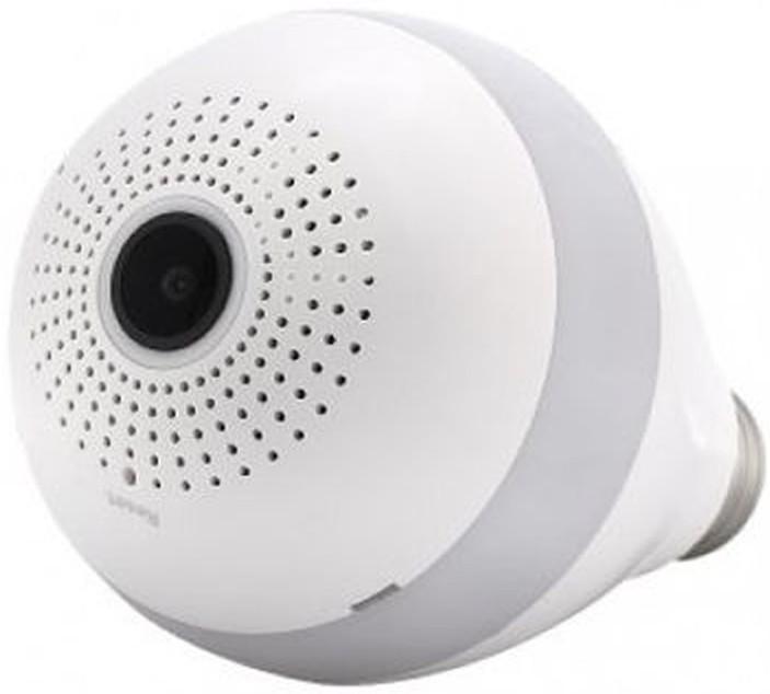 Bec cu camera Spion iUni B008 SpyCam, Wi-Fi/IP si Senzor de Miscare, Unghi 360 grade imagine techstar.ro 2021