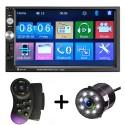 MP5 Player Auto Universal 7023B Camera de Marsarier HD Ecran 7 Inch Bluetooth MirrorLink Android IoS