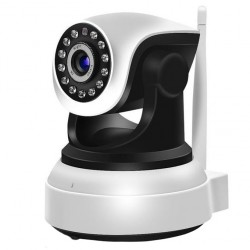 Camera de Supraveghere Interior IP Wireless Techstar® RL-22 Pan / Tilt HD 720P Leduri Infrarosu IoS si Android