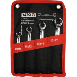 Set 4 chei inelare semideschise Yato YT-0143