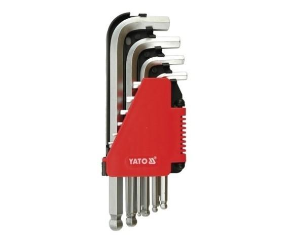 Set chei imbus Yato 10buc 2-12mm YT-0509 imagine techstar.ro 2021
