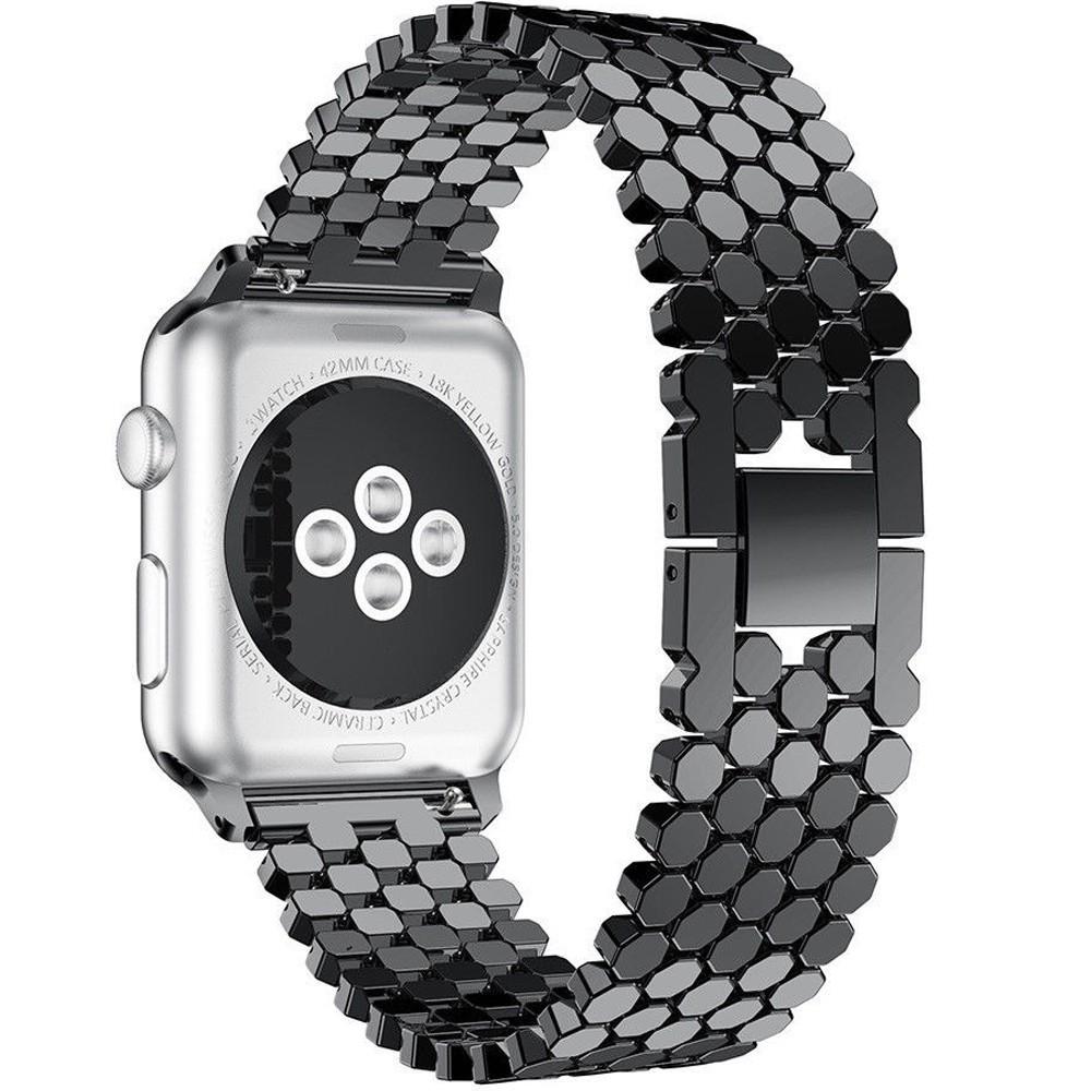 Curea pentru Apple Watch Black Jewelry iUni 40mm Otel Inoxidabil