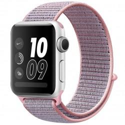 Curea pentru Apple Watch 40mm iUni Woven Strap, Nylon Sport, Soft Lila