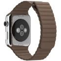 Curea piele pentru Apple Watch 44mm iUni Brown Leathe