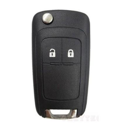 Carcasa cheie tip briceag Opel, Chevrolet cu 2 butoane