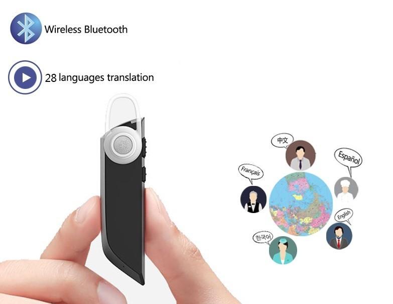 Noua casca bluetooth Business Inter-Translation, suporta 28 limbi