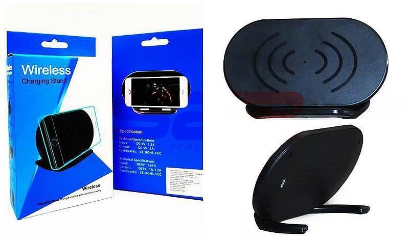 Incarcator wireless fast charge 10W pentru birou