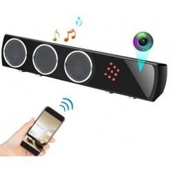 Boxa cu Camera Spion iUni Spy IP42, 1080p, Wireless, Senzor de Miscare, Night Vision, Inregistrare Audio-Video