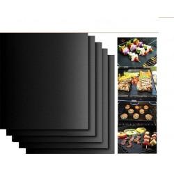 Set 3 Folii antiaderente din teflon pentru gratar, BBQ Grill Matt