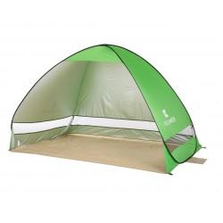 Cort Pentru Plaja Verde Deschis Anti-UV Tip Pop-up pentru 2 Persoane Marime 200x120x130cm
