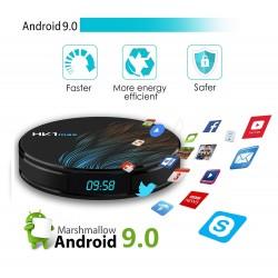 Media Player HK1 MAX Android 9.0, Smart TV Box 4K, 2gb/16gb, Wifi, limba Romana, Netflix subtitrare in romana