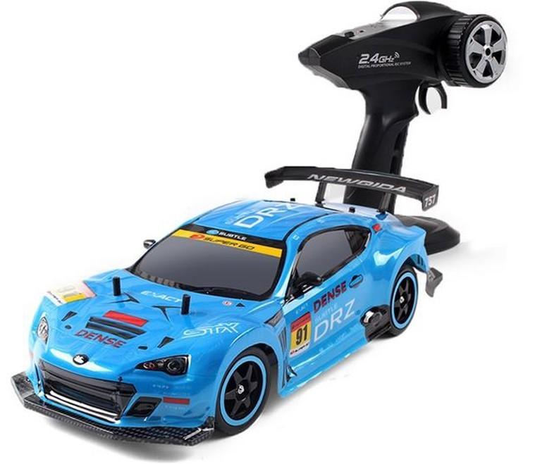 Masinuta cu Telecomanda iUni A757, High Speed Racing, 1:10, 40km/h, Albastru imagine techstar.ro 2021