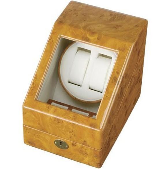 Cutie pentru intors ceasuri automatice iUni Watch Winder 2 + 3 spatii depozitare, Gold imagine techstar.ro 2021