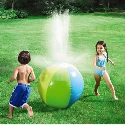 Minge gonflabila, cu stropire, pentru gradina, piscina, petreceri in curte