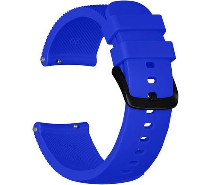 Curea ceas Smartwatch Samsung Gear S3, iUni 22 mm Silicon Blue