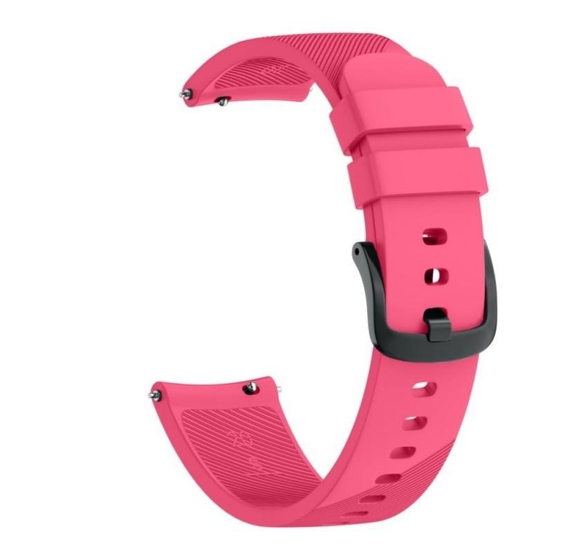 Curea ceas Smartwatch Samsung Gear S3, iUni 22 mm Silicon Pink