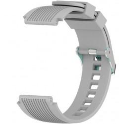 Curea ceas Smartwatch Samsung Gear S2, iUni 20 mm Silicon Sport Grey