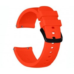 Curea ceas Smartwatch Samsung Gear S3, iUni 22 mm Silicon Orange