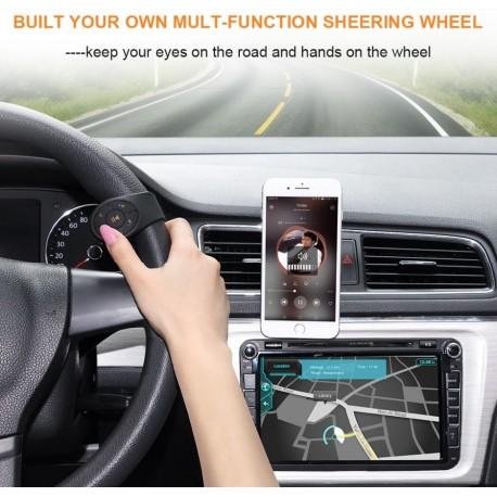Controller bluetooth montare pe volan, ghidon bicicleta, IOS, Android