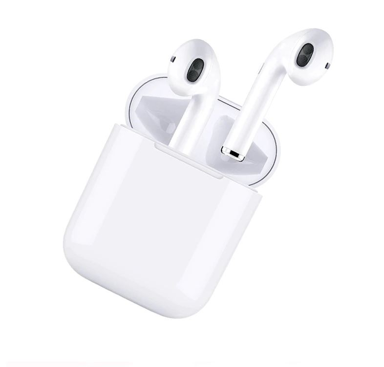 Casti Audio Wireless cu Bluetooth i9S TWS Alb Tip In-Ear pentru IOS si Android, Bluetooth 5.0, Dual Audio
