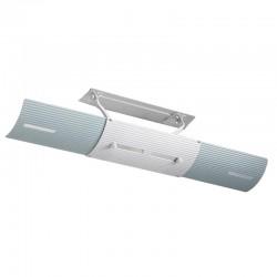 Deflector Acoperire Aer Conditionat cu Reglaj pentru Directia Aerului Rece Emis, Universal, Retractabil 70cm