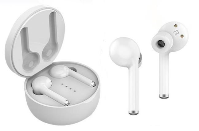 Casti Bluetooth 5.0, TW40, SIRI, stereo, comanda prin atingere, cutie incarcare, utilizare toata ziua