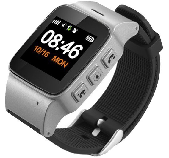 Ceas GPS Copii si Seniori iUni U100 Plus, Telefon incorporat, Display Color, Wi-fi, Buton SOS, Silver imagine techstar.ro 2021
