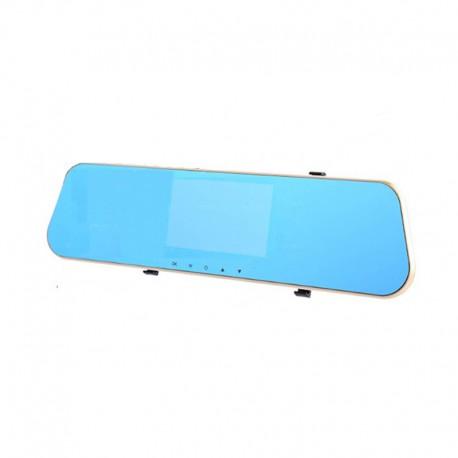 Camera Video Auto Tip Oglinda L805 DVR FullHD Dubla cu Ecran 4.3 inchi Touch Screen si Unghi de 170°