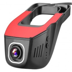 Camera Video Auto UltraHD 4K 2160P Discreta JunSun S690, 4MPx, Unghi 160 Grade, GPS Tracking, Control WiFi cu App