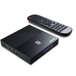 Smart TV Box Mini PC Android 9.0 4GB RAM 64GB ROM 4K Quad Core Bluetooth HDMI WiFi Dual Band Ethernet Slot Card SD