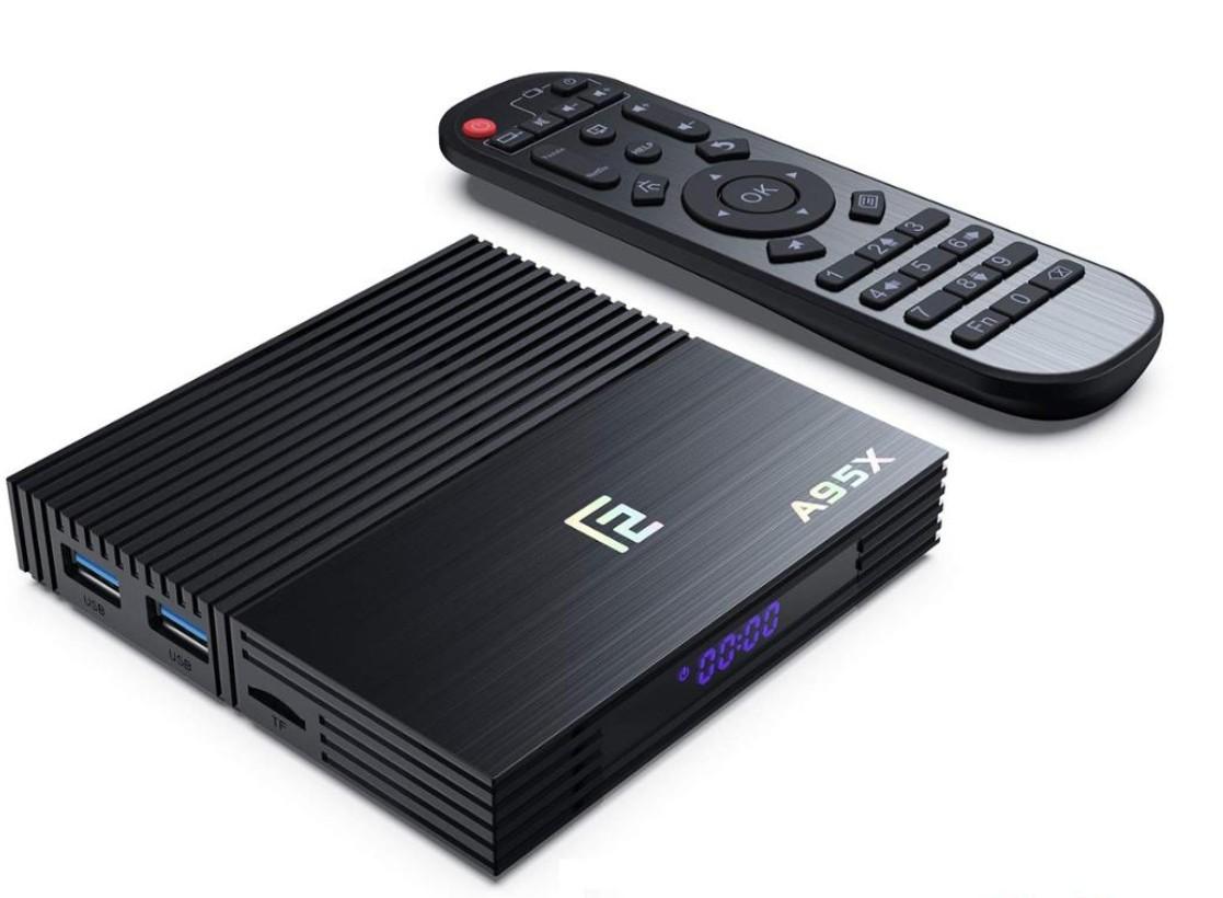 Smart TV Box Mini PC A95X F2 Android 9.0 4GB RAM 32GB ROM 4K Quad Core Bluetooth HDMI WiFi Dual Band Ethernet Slot Card SD imagine techstar.ro 2021