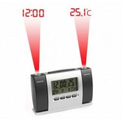 Ceas cu proiectie dubla: ora si temperatura
