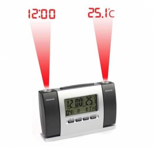 Ceas cu proiectie dubla: ora si temperatura poza 2021