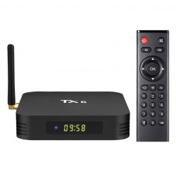 Smart Tv Box TX6 Android 9.0 4GB RAM 64GB ROM Wifi Quad Core USB 3.0 Bluetooth 4.2 4K