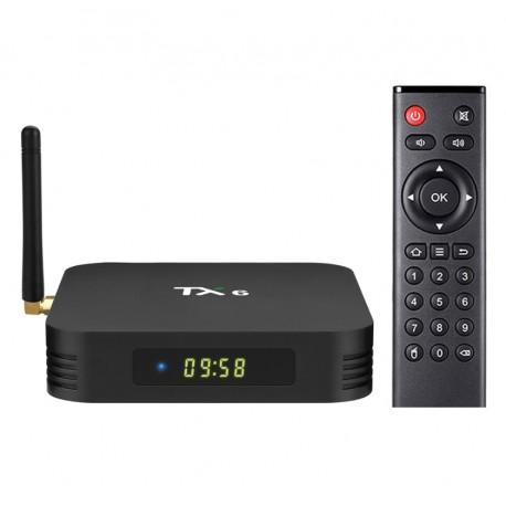 Smart Tv Box TX6 Android 9.0 4GB RAM 64GB ROM Wifi Quad Core USB 3.0 Bluetooth 4.2 4K