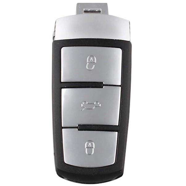 Carcasa cheie auto Volkswagen Passat B6/B7, 3 butoane plus lamela de urgenta