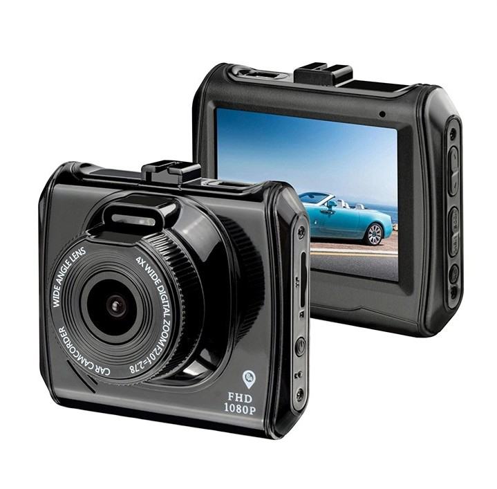 Camera Video Auto DVR RLDV-203 Techstar® FullHD 1080p 12 Mpx Display 2.2 inch imagine techstar.ro 2021