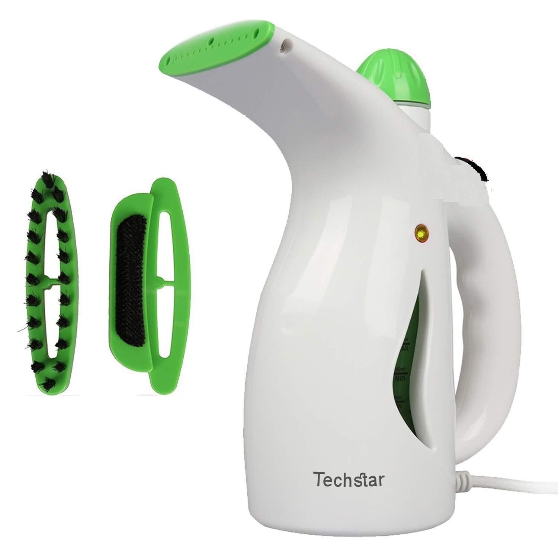 Fier de Calcat Techstar® H2O cu Aburi Portabil si Calcare Verticala, Culoare Alb-Verde, 600 W imagine techstar.ro 2021
